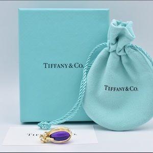 Tiffany & Co. Amethyst SCHLUMBERGER Egg Charm